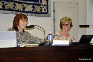 Carmen Magallón y Gloria Labarta